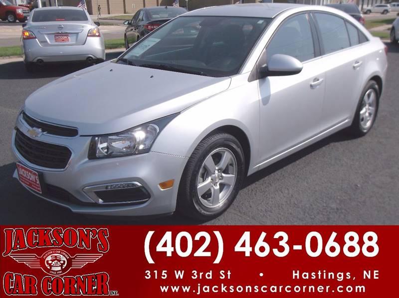 2015 Chevrolet Cruze for sale at Jacksons Car Corner Inc in Hastings NE