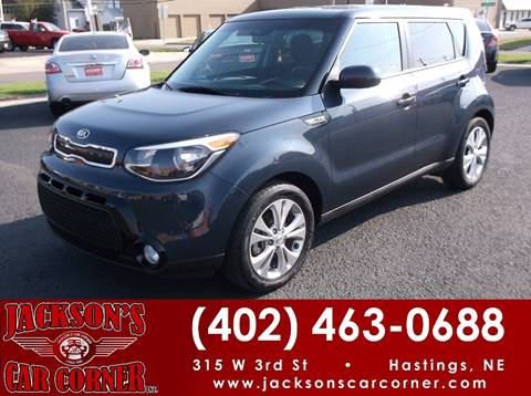 2016 Kia Soul for sale at Jacksons Car Corner Inc in Hastings NE