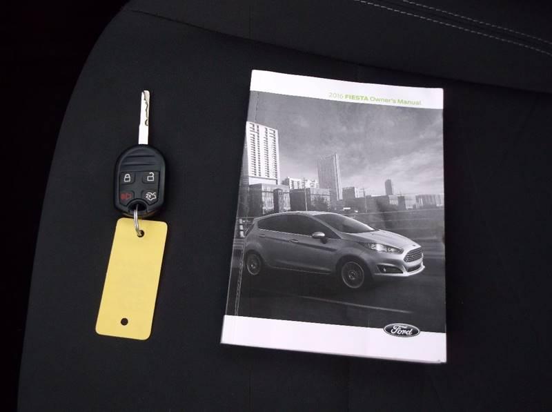 2016 Ford Fiesta for sale at Jacksons Car Corner Inc in Hastings NE