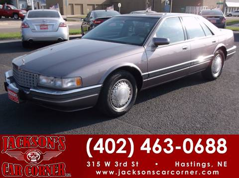 1993 Cadillac Seville for sale at Jacksons Car Corner Inc in Hastings NE