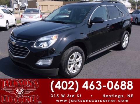 2016 Chevrolet Equinox for sale at Jacksons Car Corner Inc in Hastings NE