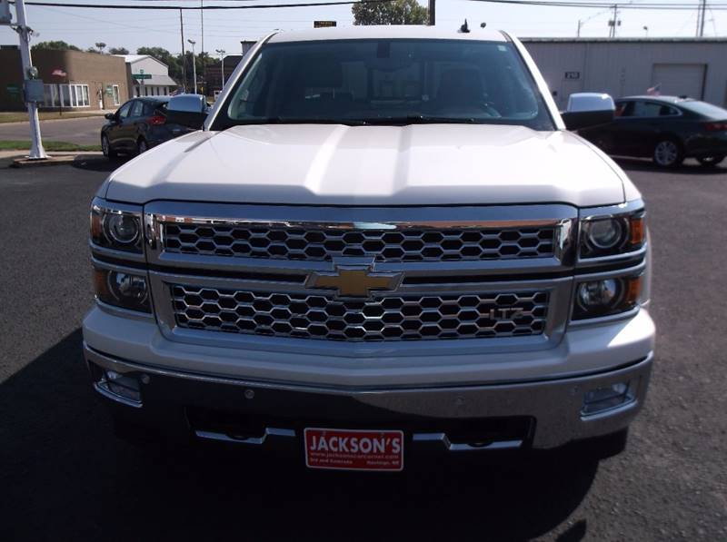 2014 Chevrolet Silverado 1500 for sale at Jacksons Car Corner Inc in Hastings NE