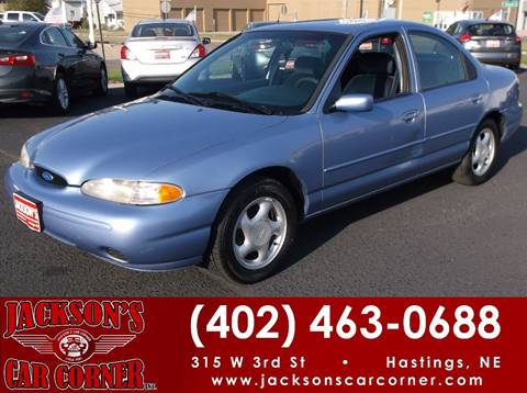 1996 Ford Contour for sale at Jacksons Car Corner Inc in Hastings NE