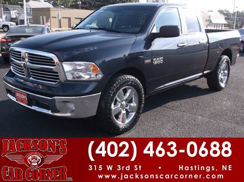2016 RAM Ram Pickup 1500 for sale at Jacksons Car Corner Inc in Hastings NE