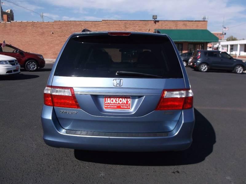 2006 Honda Odyssey for sale at Jacksons Car Corner Inc in Hastings NE