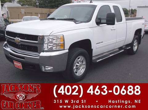2009 Chevrolet Silverado 2500HD for sale at Jacksons Car Corner Inc in Hastings NE