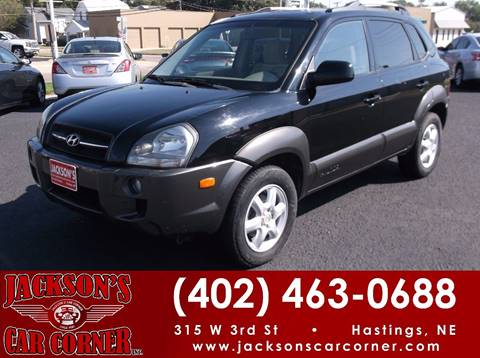 2005 Hyundai Tucson for sale at Jacksons Car Corner Inc in Hastings NE