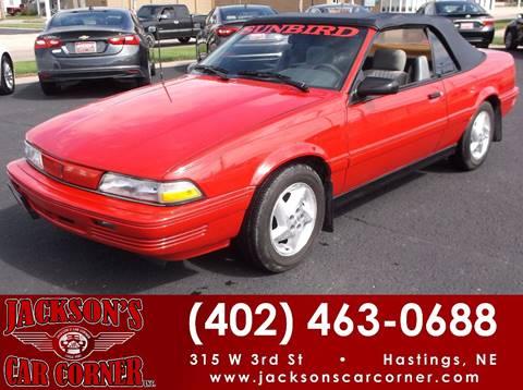 1992 Pontiac Sunbird for sale in Hastings, NE