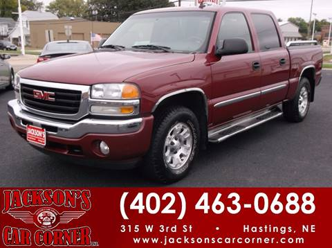 2006 GMC Sierra 1500 for sale at Jacksons Car Corner Inc in Hastings NE