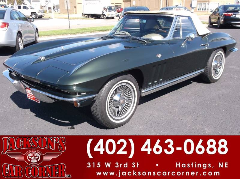 1965 Chevrolet Corvette for sale at Jacksons Car Corner Inc in Hastings NE