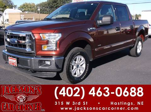 2016 Ford F-150 for sale at Jacksons Car Corner Inc in Hastings NE