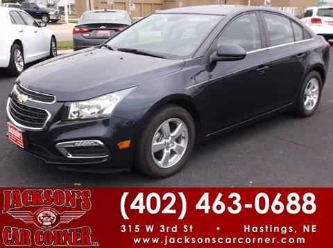2016 Chevrolet Cruze Limited for sale at Jacksons Car Corner Inc in Hastings NE