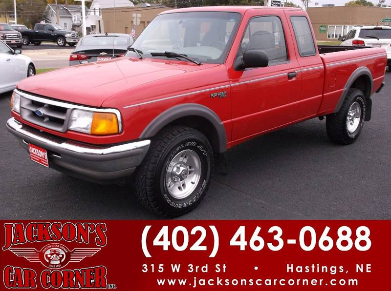 1997 Ford Ranger for sale at Jacksons Car Corner Inc in Hastings NE