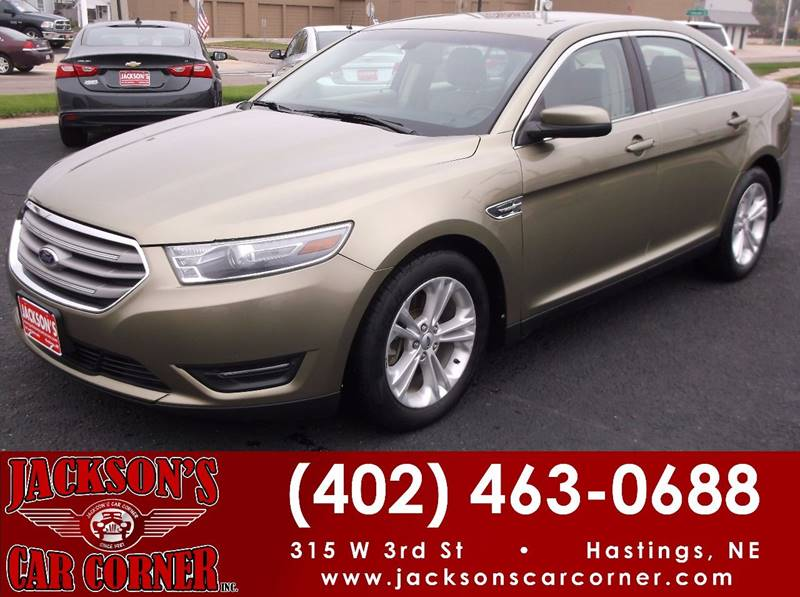 2013 Ford Taurus for sale at Jacksons Car Corner Inc in Hastings NE