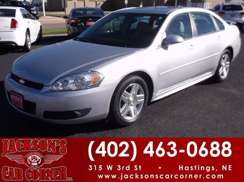 2011 Chevrolet Impala for sale at Jacksons Car Corner Inc in Hastings NE