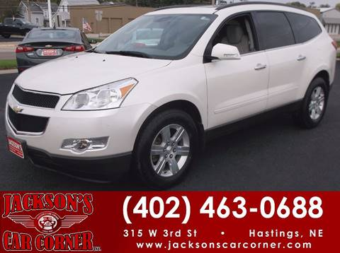 2012 Chevrolet Traverse for sale at Jacksons Car Corner Inc in Hastings NE
