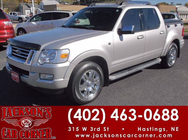 2007 Ford Explorer Sport Trac Limited : hastings ford used cars - markmcfarlin.com