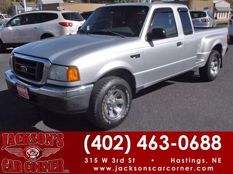 2004 Ford Ranger for sale at Jacksons Car Corner Inc in Hastings NE
