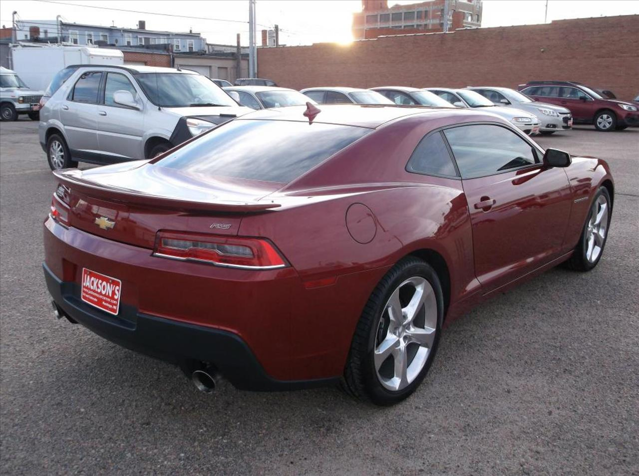 2014 Chevrolet Camaro for sale at Jacksons Car Corner Inc in Hastings NE
