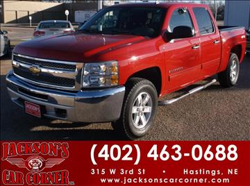 2012 Chevrolet Silverado 1500 for sale at Jacksons Car Corner Inc in Hastings NE