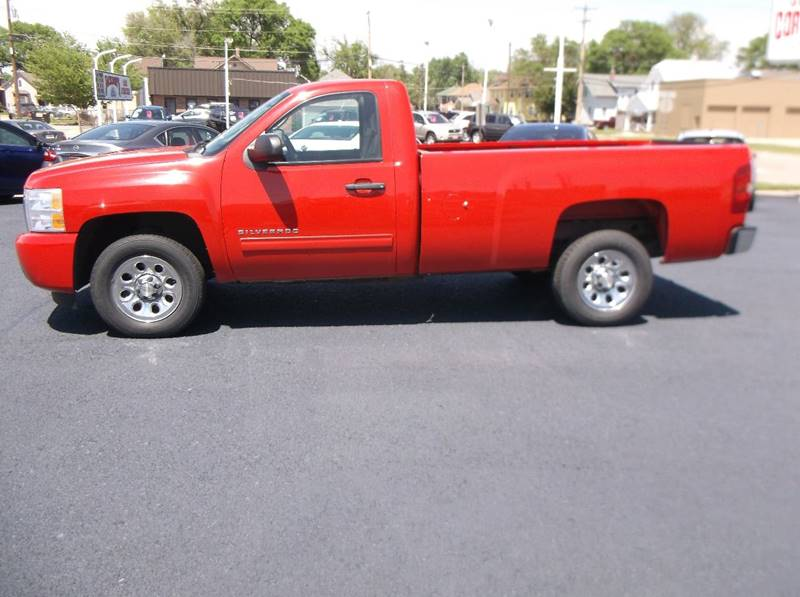 2011 Chevrolet Silverado 1500 for sale at Jacksons Car Corner Inc in Hastings NE