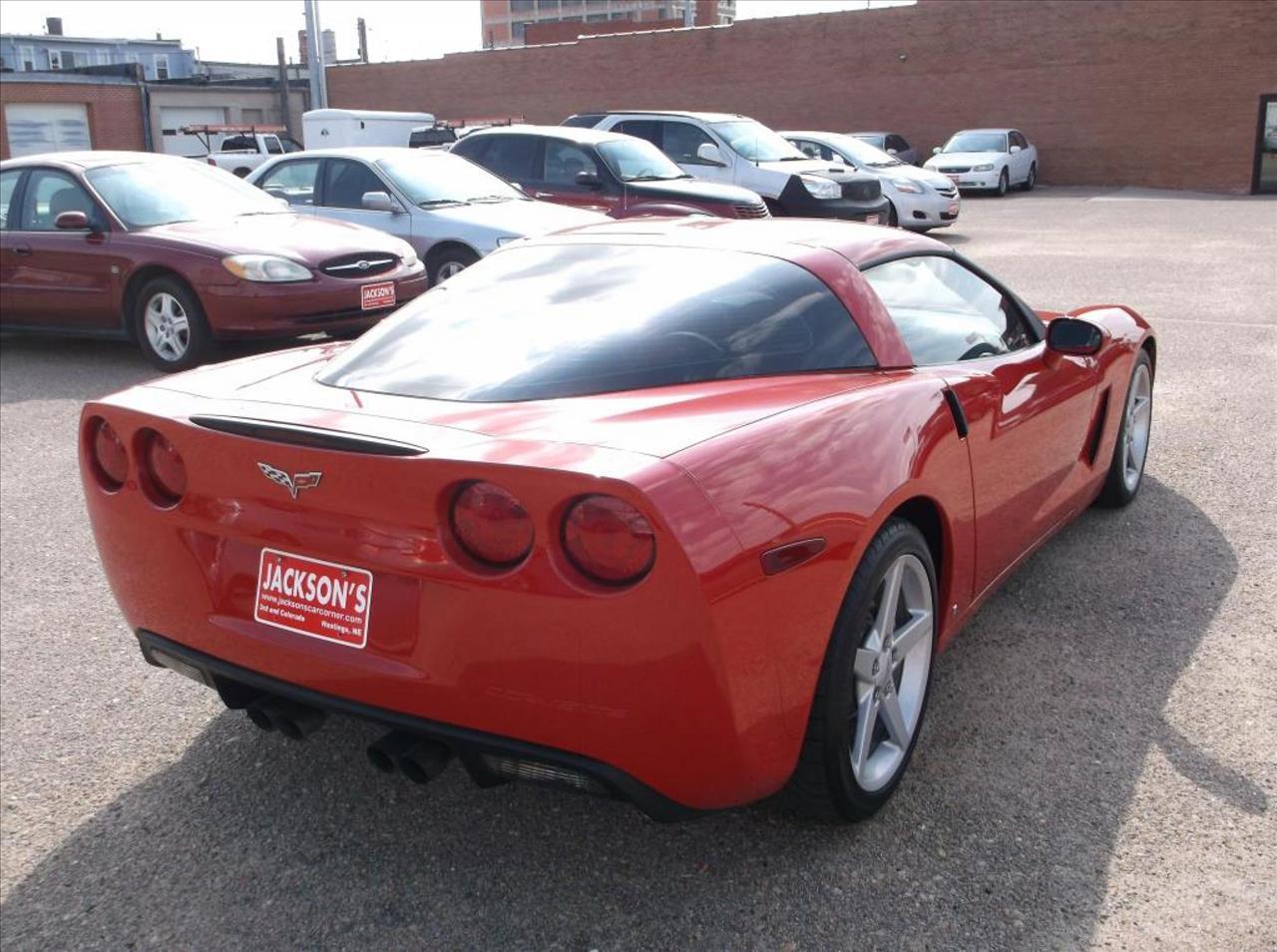 2007 Chevrolet Corvette for sale at Jacksons Car Corner Inc in Hastings NE