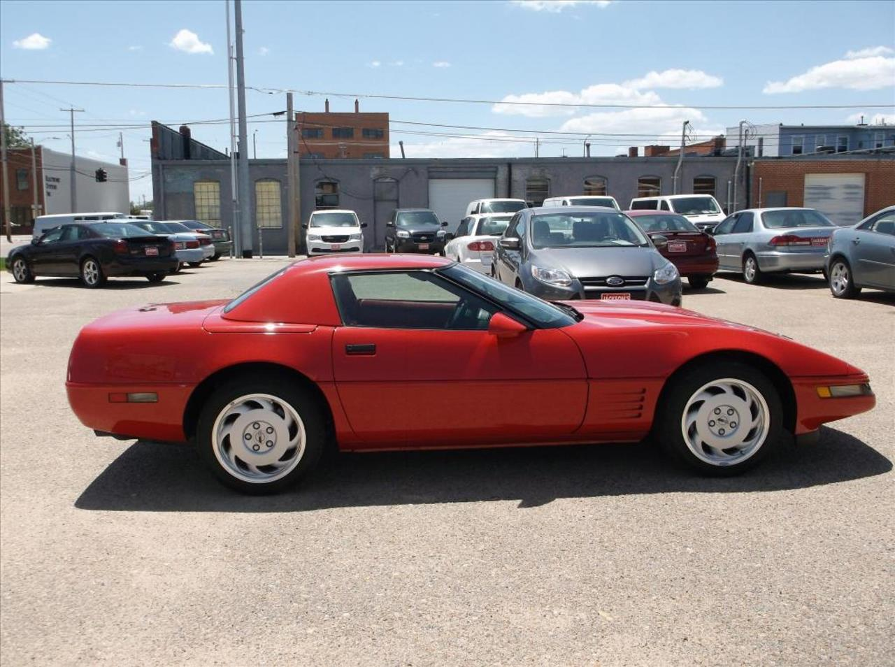 1992 Chevrolet Corvette for sale at Jacksons Car Corner Inc in Hastings NE