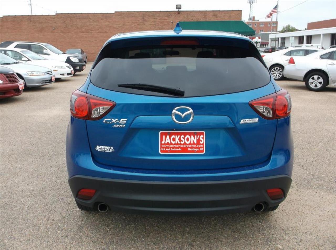 2013 Mazda CX-5 for sale at Jacksons Car Corner Inc in Hastings NE