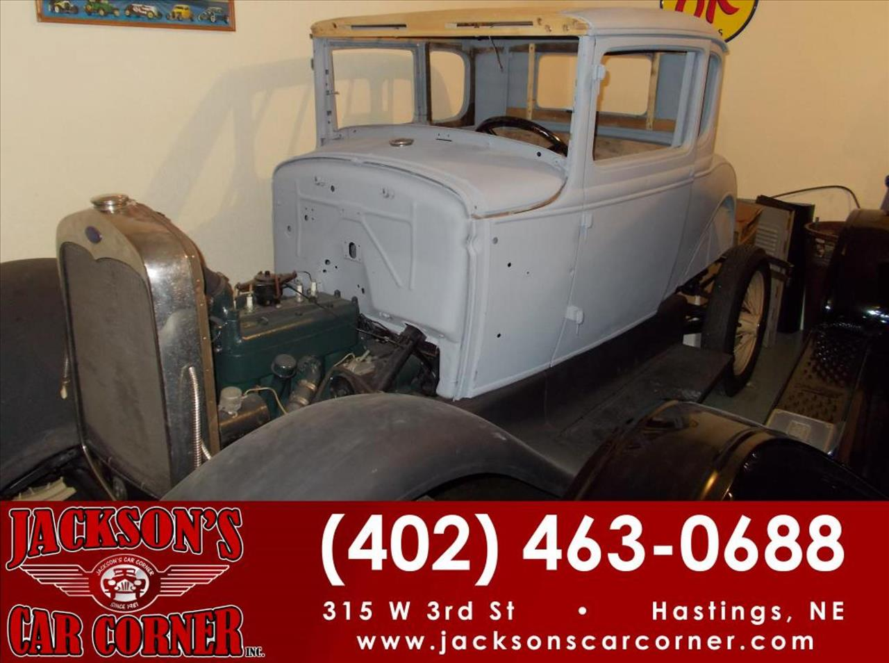 1930 Ford Model A for sale at Jacksons Car Corner Inc in Hastings NE