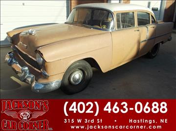 1955 Chevrolet Other for sale at Jacksons Car Corner Inc in Hastings NE