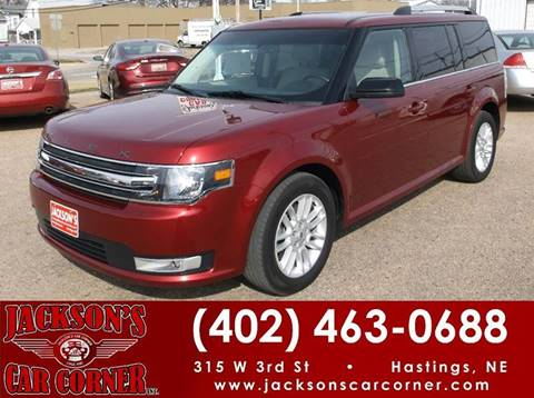 2014 Ford Flex for sale at Jacksons Car Corner Inc in Hastings NE