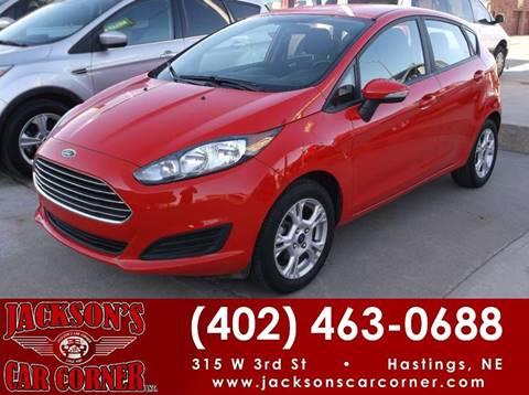 2015 Ford Fiesta for sale at Jacksons Car Corner Inc in Hastings NE