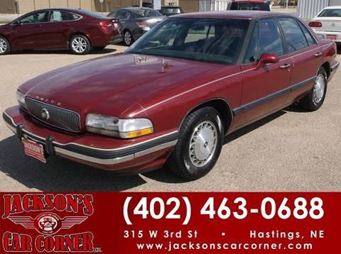 1995 Buick LeSabre for sale at Jacksons Car Corner Inc in Hastings NE
