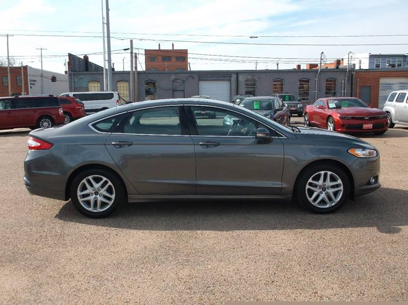 2014 Ford Fusion for sale at Jacksons Car Corner Inc in Hastings NE