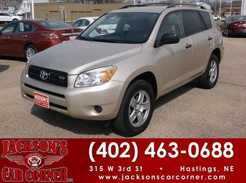 2006 Toyota RAV4 for sale at Jacksons Car Corner Inc in Hastings NE