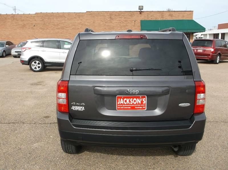 2016 Jeep Patriot for sale at Jacksons Car Corner Inc in Hastings NE
