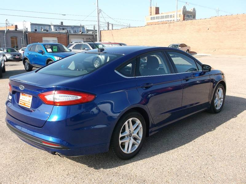 2016 Ford Fusion for sale at Jacksons Car Corner Inc in Hastings NE