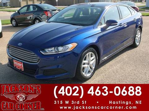 2016 Ford Fusion for sale in Hastings, NE