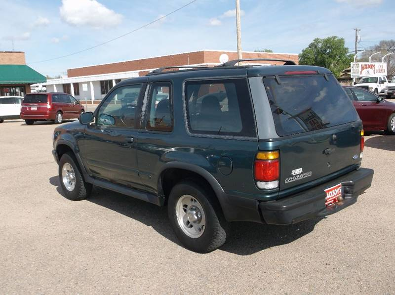 1996 Ford Explorer for sale at Jacksons Car Corner Inc in Hastings NE