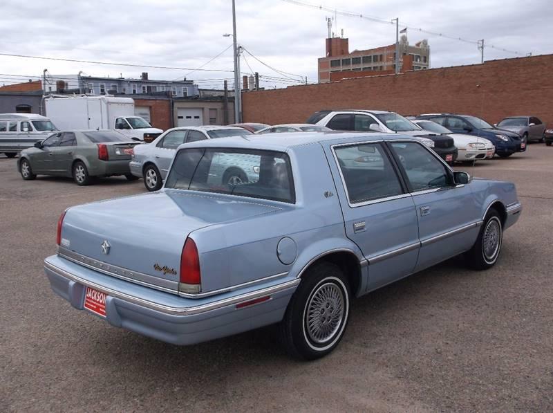 1993 Chrysler New Yorker for sale at Jacksons Car Corner Inc in Hastings NE