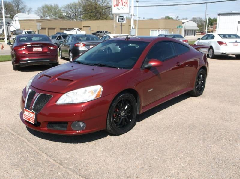 2008 Pontiac G6 for sale at Jacksons Car Corner Inc in Hastings NE