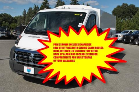 2017 RAM ProMaster Cutaway Chassis for sale in Lowell, MA