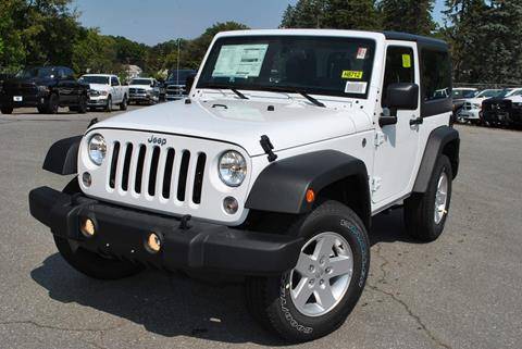 2017 Jeep Wrangler for sale in Lowell MA