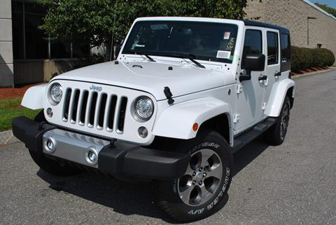 2017 Jeep Wrangler Unlimited for sale in Lowell MA