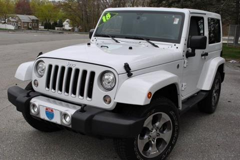 2018 Jeep Wrangler for sale in Lowell, MA