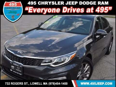2019 Kia Optima for sale at 495 Chrysler Jeep Dodge Ram in Lowell MA