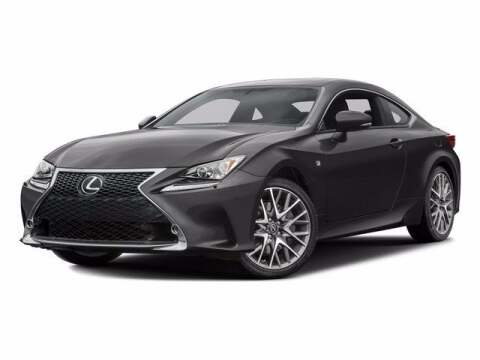 2016 Lexus RC 300 for sale at 495 Chrysler Jeep Dodge Ram in Lowell MA
