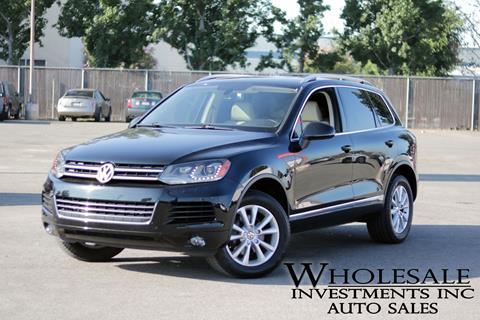 2013 Volkswagen Touareg for sale in Van Nuys, CA