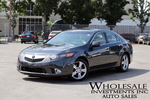 2013 Acura TSX for sale in Van Nuys, CA