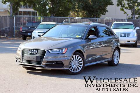 2016 Audi A3 Sportback e-tron for sale in Van Nuys, CA